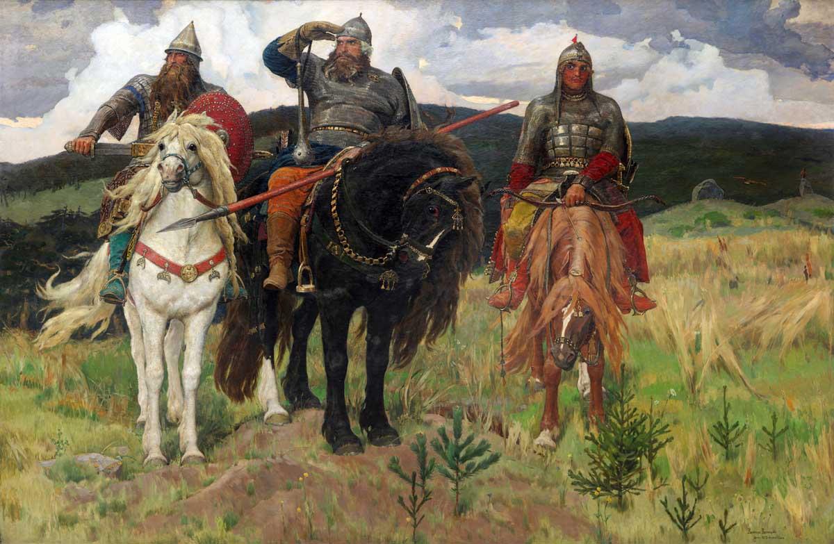Богатыри - картина Васнецова